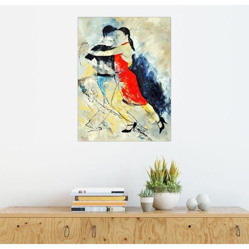 Posterlounge Wandbild - Pol Ledent »Tangotänzer«, bunt
