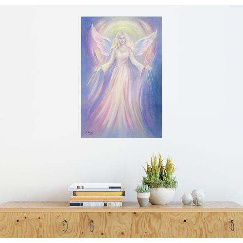 Posterlounge Wandbild - Marita Zacharias »Licht und Liebe - Engelmalerei«, bunt