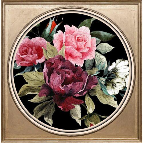 queence Acrylglasbild »Bunter Blumenstrauß II«