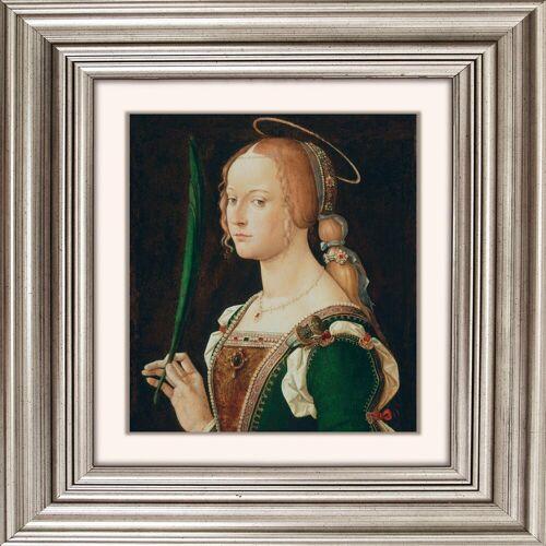 Acrylglasbild »Frau II«