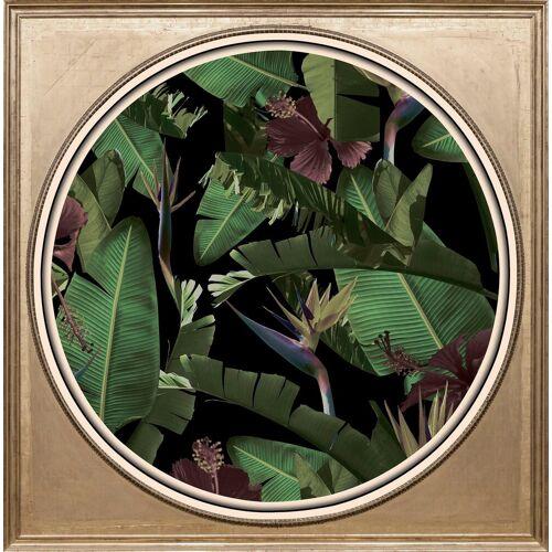 queence Acrylglasbild »Tropische Pflanzen II«