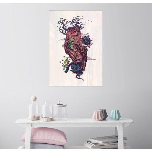 Posterlounge Wandbild - Mat Miller »Regrowth«, weiß