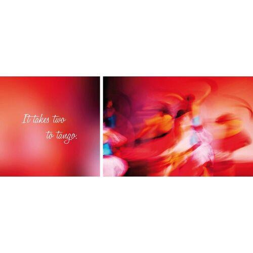 Leinwandbild »Tango«, (Set, 2 Stück), 2er-Set