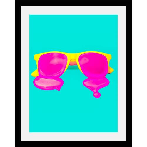 Bild »Brille«, in 3 Größen, gerahmt
