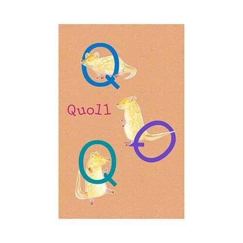 Komar XXL Poster »ABC Animal Q«, bunt