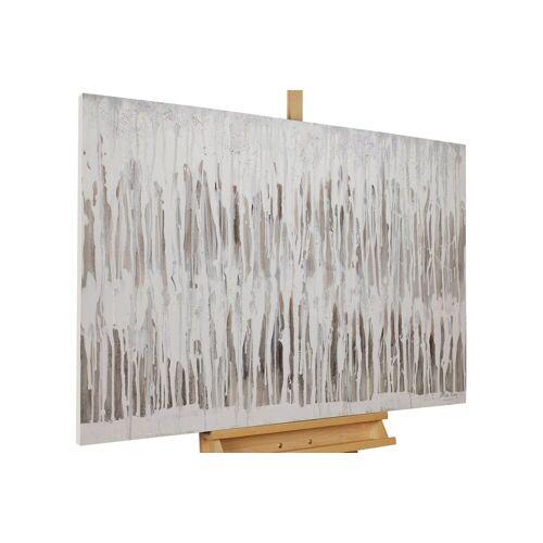 KUNSTLOFT Gemälde »Graues Himmelszelt«, handgemaltes Bild auf Leinwand