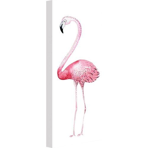 ART Wall-Art Leinwandbild »Kvilis - Pink Flamingo 01«