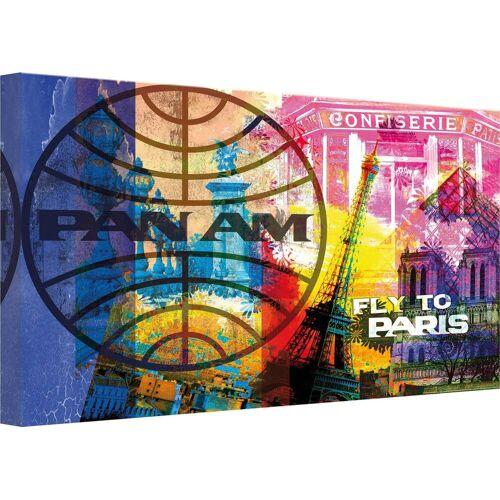 Leinwandbild »PAN AM - Paris«