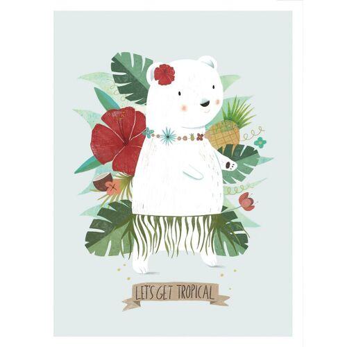 Poster »Loske - Let´s get tropical«