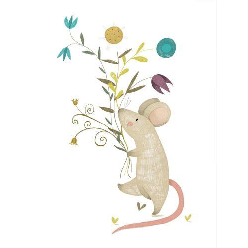 Poster »Loske - Kleine Maus«