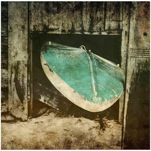 ART & Pleasure Acrylglasbild »Surf break«, aus Acrylglas, grau