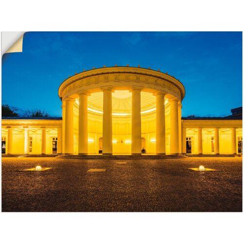 Artland Wandbild »Elisenbrunnen Aachen«, Gebäude (1 Stück)
