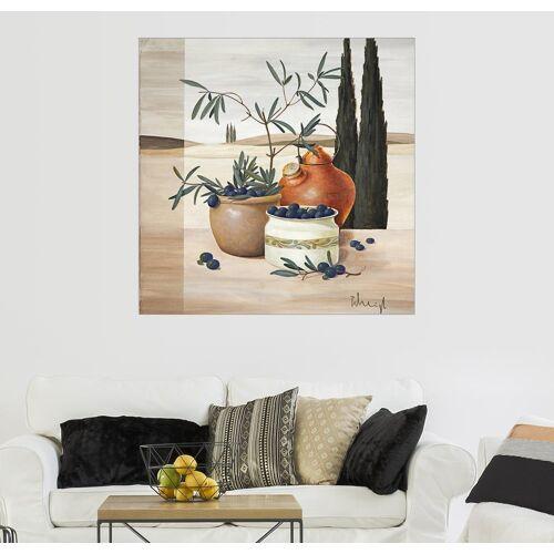 Posterlounge Wandbild, Olivenernte