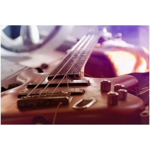 ART & Pleasure Acrylglasbild »Bass guitar«, Gitarre