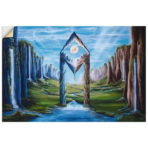 Artland Wandbild »Säulenkristall«, Landschaften (1 Stück)