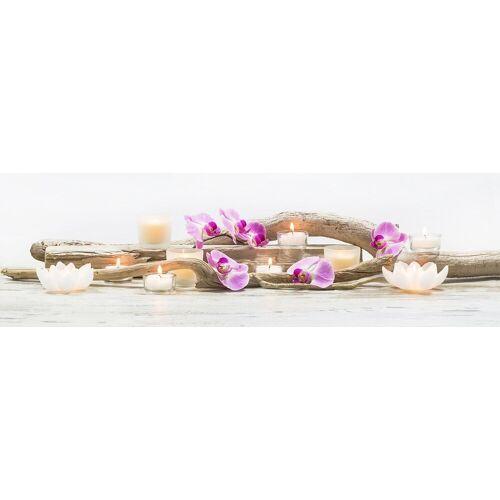 ART for the home Leinwandbild »Orchideen«, Blumen, mit LED