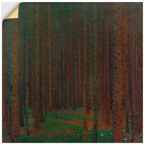 Artland Wandbild »Tannenwald I (Fichtenwald, Föhrenwald, Waldinneres«, Wald (1 Stück)