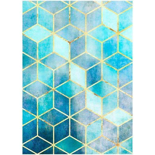 Komar XXL Poster »Mosaik Azzuro«, bunt