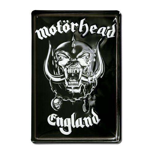 LOGOSHIRT Blechschild mit coolem Motörhead-Blechschild, farbig