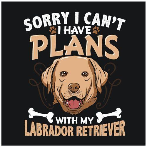 Artland Wandbild »Witziges Hundebild«, Humor (1 Stück)