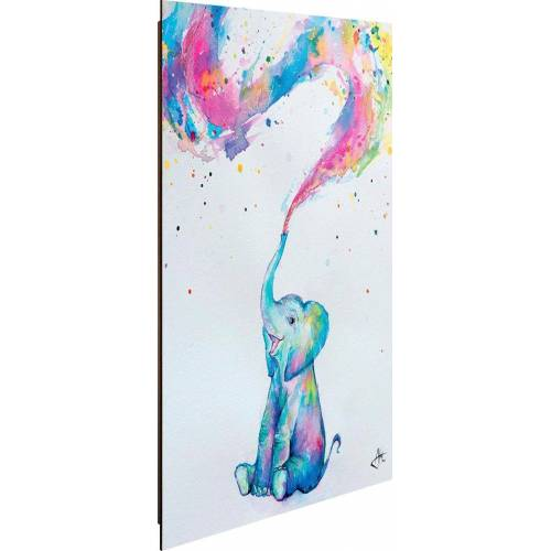 Deco-Panel »Aquarell Elefant«