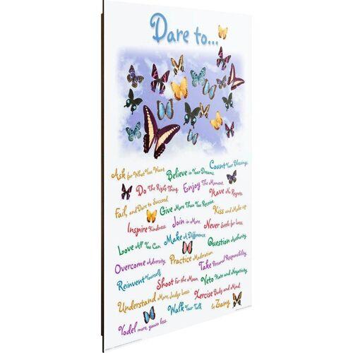 Deco-Panel »Dare to…«