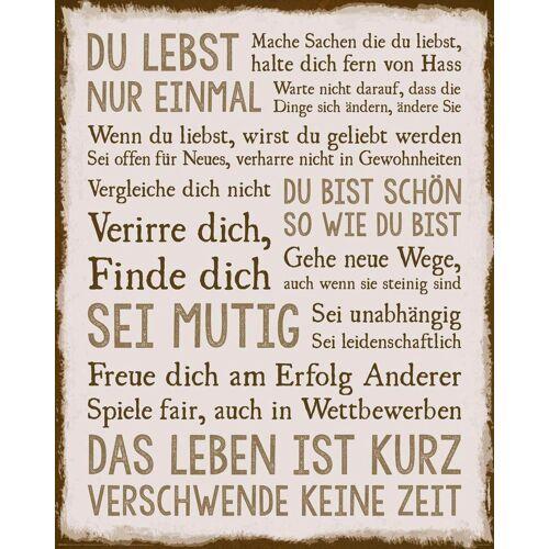 Deco-Panel »Das Leben«