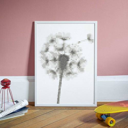 Dot On Malvorlage »art - pusteblume, 50 x 70 cm«
