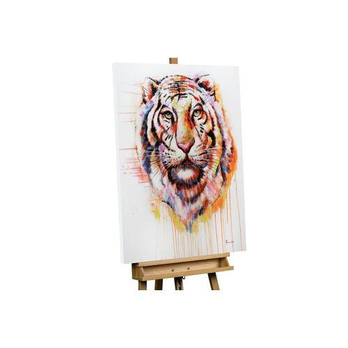 KUNSTLOFT Gemälde »Königstiger«, handgemaltes Bild auf Leinwand
