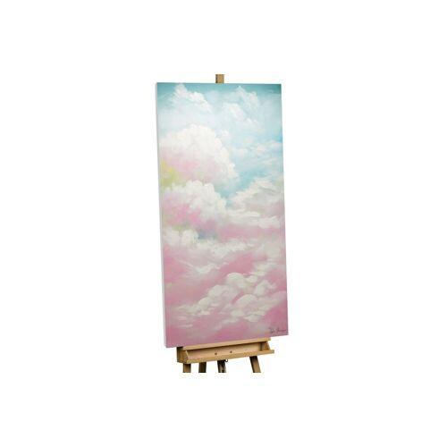 KUNSTLOFT Gemälde »Pastel Dreams«, handgemaltes Bild auf Leinwand