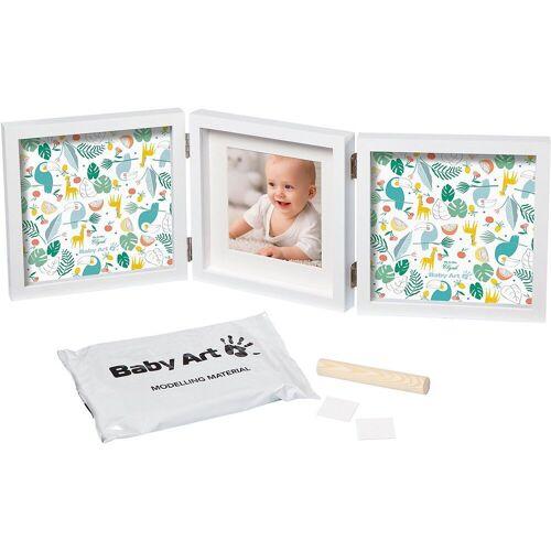 ART BABY ART Kreativset »Bilderrahmen My Baby Style, double, grau«, bunt