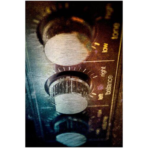 ART & Pleasure Metallbild »Amplifier«, Amplifier