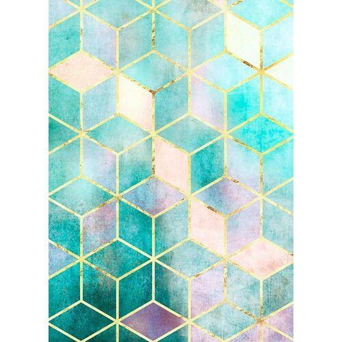 Komar XXL Poster »Mosaik Verde«, bunt