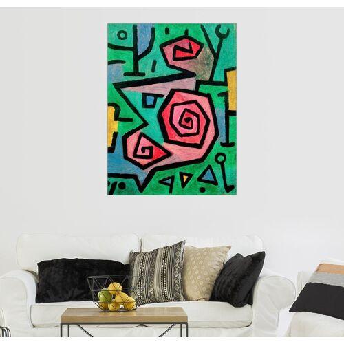 Posterlounge Wandbild, Heldenmutige Rosen