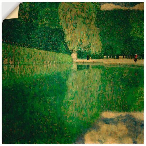 Artland Wandbild »Schönbrunner Park (Schönbrunner Landschaft)«, Wiesen & Bäume (1 Stück)