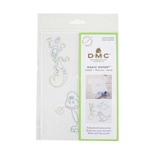 DMC Kreativset »Magic Paper Wasserlösliche Stickunterlage mit«