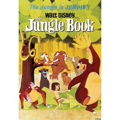 ART for the home Leinwand »Disney Jungle Book«, 50 x 70 cm, braun/grün/gelb