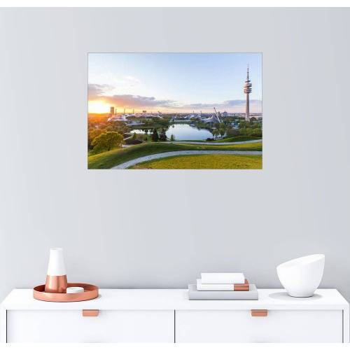 Posterlounge Wandbild, Olympiapark in München
