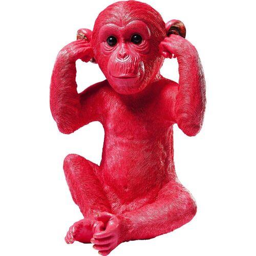 KARE Spardose »Spardose Monkey Kikazaru Rot«