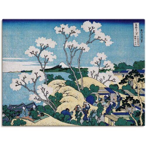 Artland Wandbild »Fuji von Gotenyama in Shinagawa«, Asien (1 Stück)
