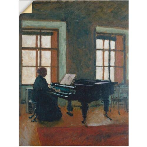 Artland Wandbild »Am Klavier. 1910«, Instrumente (1 Stück)
