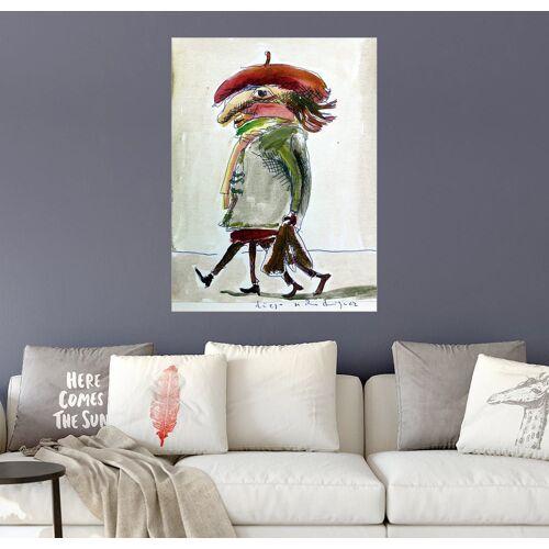 Posterlounge Wandbild, Der Künstler