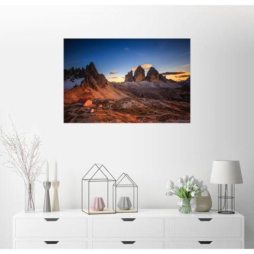 Posterlounge Wandbild, Dreizinnen dolomiten