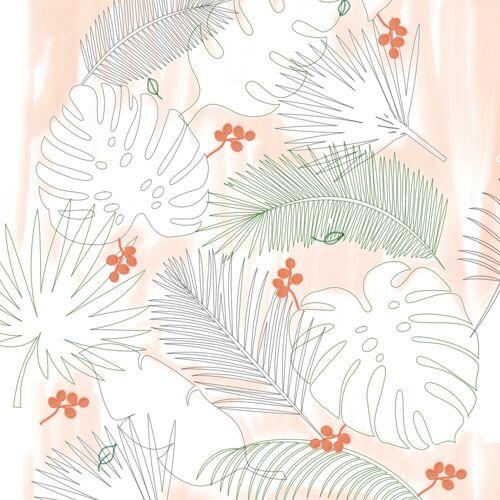 ART for the home Leinwandbild »Palmenblätter«, Pflanzen