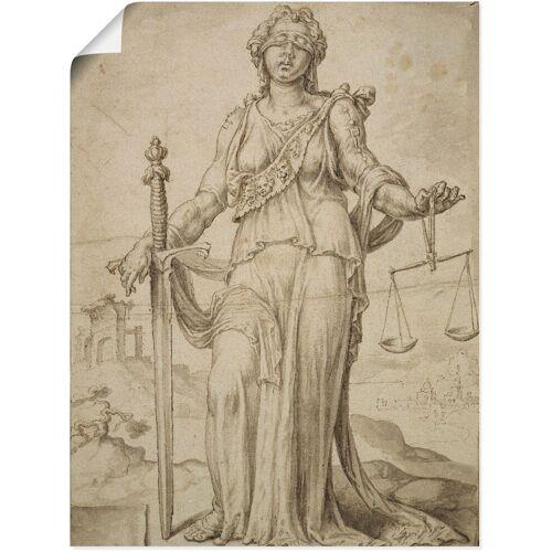 Artland Wandbild »Justitia.«, Frau (1 Stück)