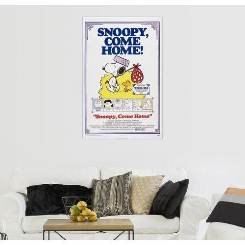 Posterlounge Wandbild, Snoopy (englisch)