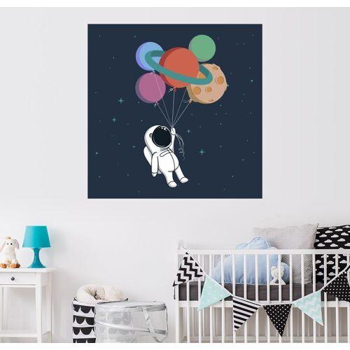 Posterlounge Wandbild, Weltraum Reise
