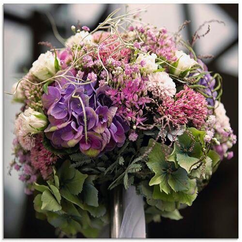 Artland Glasbild »Blumenkugel«, Blumen (1 Stück)