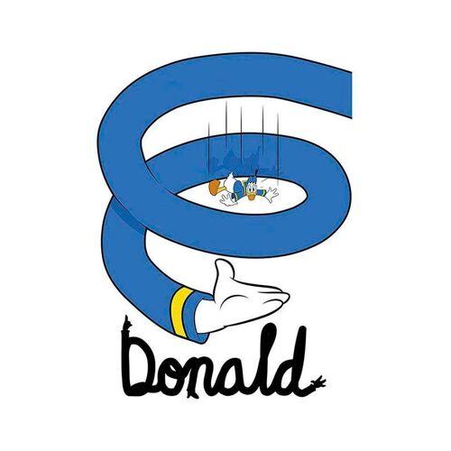 Komar XXL Poster »Donald Duck Spiral«, bunt