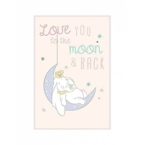Komar XXL Poster »Dumbo Moon«, bunt